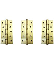 DOLPHIN BRASS BALL BEARING HINGE 4 INCH- SET OF 3
