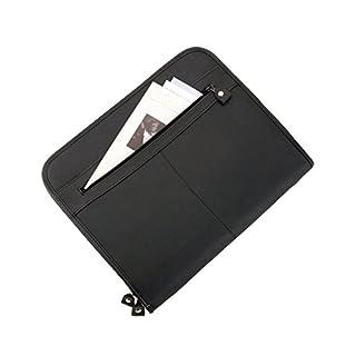 Alassio 30042 - Reißverschlussmappe Milano, DIN A4, 36 x 29 x 5 cm, schwarz