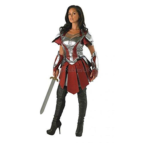 (Fancy Dress - Thor die dunkle Welt - ERWACHSENE Sif Deluxe Kostüm UNTERSTÜTZT XSMALL)