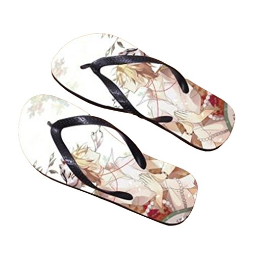 Bromeo Natsume Yuujinchou Anime Unisex Flip Flops Zehentrenner Flip Pantoffeln 741