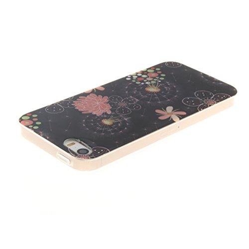 MYTHOLLOGY Coque Pour iPhone SE / iPhone 5 /iPhone 5s - Flexible Silicone Doux Housse Case Cover - TXDW CSMTQ
