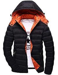 MU CHAO Abrigo de algodón de Invierno de los Hombres Ropa Superior Ultra  Light Ropa de e13aaccf2c2fa