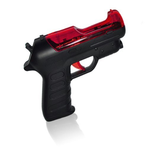 OSTENT Light Gun Shooter Pistol PS Move Motion Controller kompatibel für Sony PS3 Shooting Game