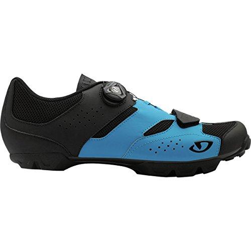 Giro Cylinder MTB, Zapatos de Bicicleta de montaña para Hombre, (Blue Jewel/Black 000), 44.5 EU