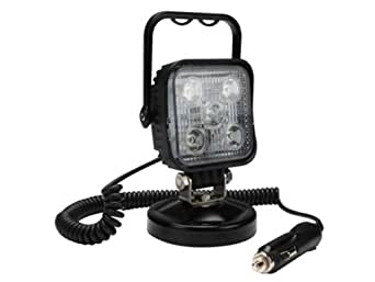 Projecteur projo chantier spot lampe led 15w magnetique 12v prise allume cigare - Projecteur led 12v ...