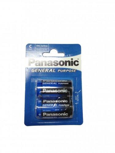 C Batterien - PANASONIC © - Baby R14 1.5V Size L-General Purpose 1 VPE 2 Stück Alkaline General Purpose Batterie