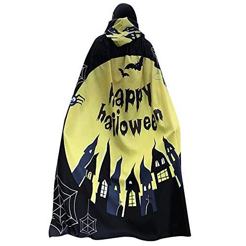 Kostüm Accessoires Feuerstein - LSAltd Frauen Neuheit Kürbis Print Cape Schal Lady Halloween Poncho Schal Wrap Kostüm