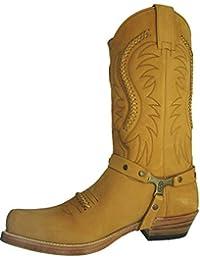 225af687796 Amazon.co.uk: Cowboy Boots - Boots / Men's Shoes: Shoes & Bags