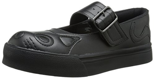 T.U.K.. Shoes Women's All Black Kitty Mary Jane Sneaker EU37/UKW4 Mary Jane Sneaker Schuh