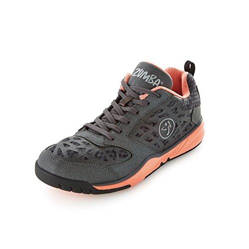 Zumba Fitness Energy Fuze, Chaussures Pour Femmes Black (noir / Corail)