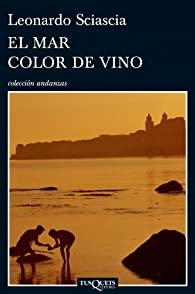 El mar color de vino par Sciascia