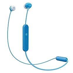 Sony WI-C300 Wireless In-Ear Headphones (Blue)