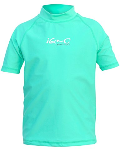 iQ-UV Kinder UV 300 Shirt Youngster Ocean, Green, 158