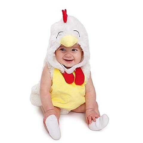 Dress Up America 862 - Baby Plüsch Hahn Huhn Kinder liebenswert Kostüm, 12-24 Monate (Amazon Halloween-kostüme Für Kinder)