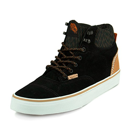 Vans ERA HI CA California Collection suede multi black, Groesse:42.5 (Trainer Collection Suede)