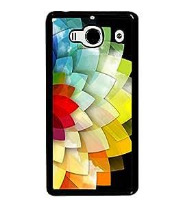Multi Colour Flower Pattern 2D Hard Polycarbonate Designer Back Case Cover for Xiaomi Redmi 2S :: Xiaomi Redmi 2 Prime :: Xiaomi Redmi 2
