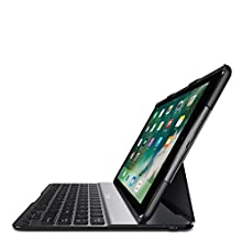 Belkin QODE Ultimate Lite Bluetooth Wireless Premium Keyboard Case for iPad 9.7 Inch 6th Generation (2018), iPad 5th Generation (2017), iPad Air 1 (6 Months Battery Life, Black)