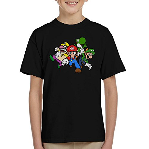 Kids Super Mario Characters  T-shirt - Ages 3 to 13 years