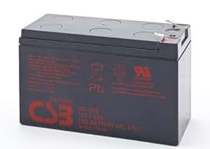 CSB GP1272 Batterie Noir