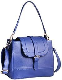 Women Marks Blue Handbag