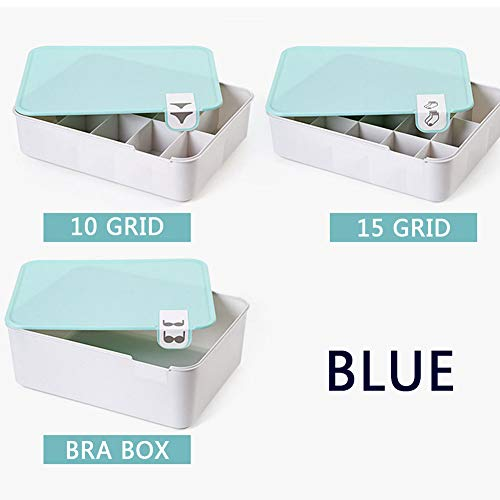 gyx Schubladenschrank, Home Storage Box Mit Classification Logo Für Bra, Unterwäsche, Socken-3 Sets -