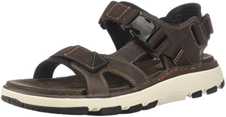 Clarks Mens Un Trek Bar Sandal, Olive Nubuck, Dimensione 10.5 10.5 10.5   Prestazioni Superiori  ccfc94
