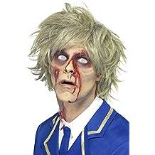Smiffys Peluca de zombi, Gris