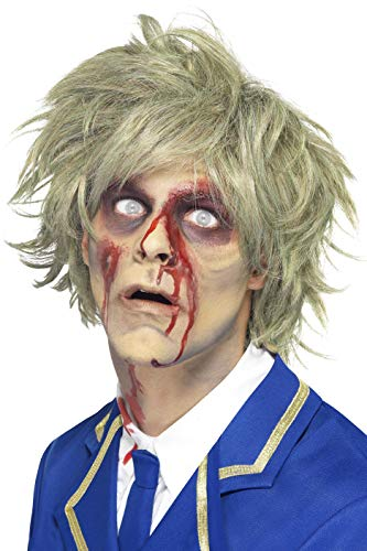 Smiffys, Herren Zombie Maske, One Size (London Halloween-party Dress Fancy In)