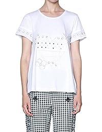 Desigual Tops es Y Blanco Camisas Camisetas Blusas Amazon 8zqOw
