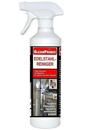 Limpiador de Acero inoxidable 500 ml (0,5 Litros) Detergente Producto Limpieza Campana...