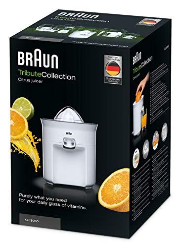 Elektro Zitruspresse Braun Tribute Collection CJ 3050 Bild 6*