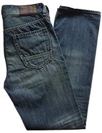 "Timberland ""Stoneham"" Mens Zip Fly Fit Slim Jeans - 6116J651 651 - W 33 L 32"