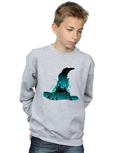 Harry Potter Niños Hogwarts Camisa De Entrenamiento Deporte Gris 9-11