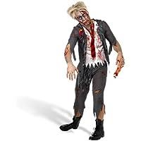High School Horror Boy Zombie Suit Costume Adult Large