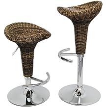 Barstuhl rattan weiss bestseller shop f r m bel und einrichtungen - Barstuhl rattan ...