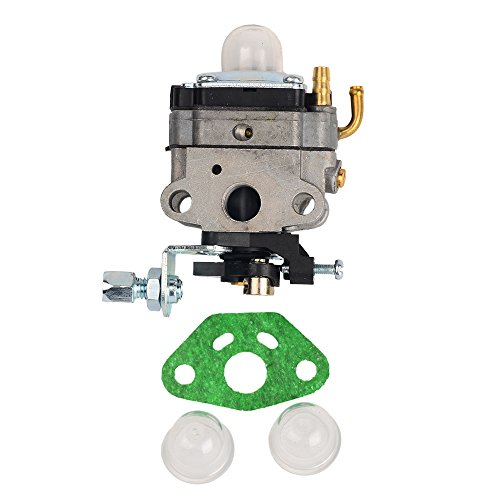 Honda Mantis Tiller (OuyFilters Carburetor with Gasket Primer Blub fit for Honda GX25 GX25N GX25NT FG110 HHT25S Replaces 16100-Z0H-825 Carb)