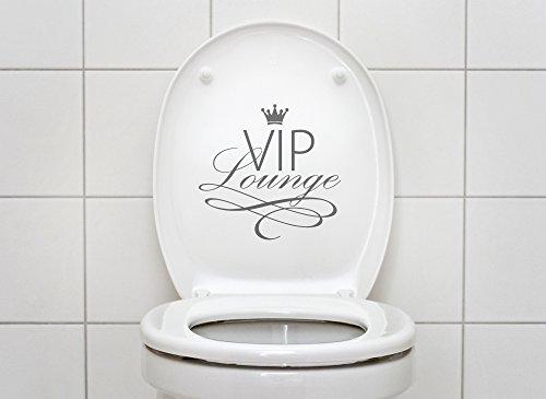 Grandora W734 WC Aufkleber VIP Lounge Wandtattoo Bad