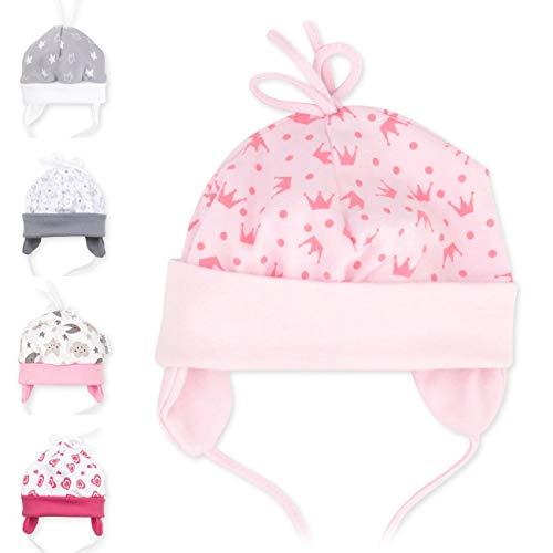 Baby Sweets Baby Mütze Mädchen & Jungen für Neugeborene & Kleinkinder Verschiedene Größen (Rosa, 9 Monate (74))...