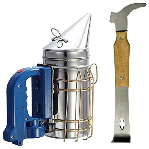 XZANTE Bienenzucht-Werkzeug-Satz-Qualitaets-elektrischer Bienen-Raucher-Imkerei-Werkzeug-Ausruestung...
