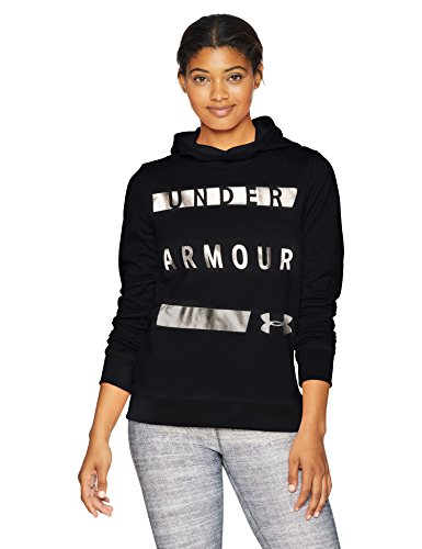 Under Armour Damen Synthetic Fleece Pullover WM Oberteil, Black/Tonal (001), SM Under Armour-fleece-pullover