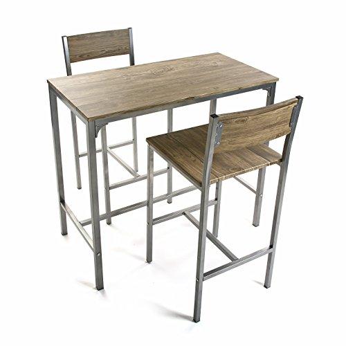 Versa - Juego Mesa y Dos sillas