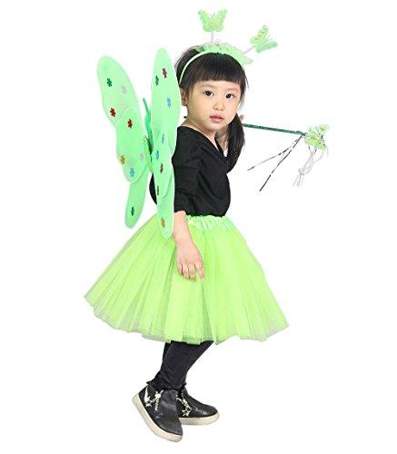 Ja10 98-104 Flügel Kostüm Kind Kinder Kostüme für Karneval ()