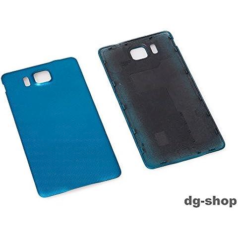 Azul Alpha tapa de Batería para Samsung Galaxy Alpha SM-G850F azul