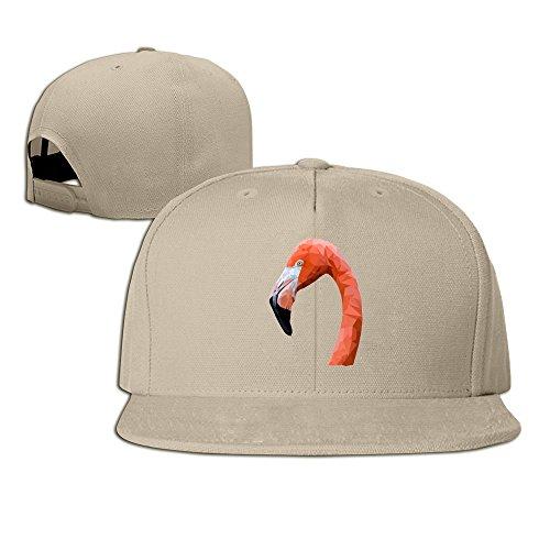 Nubia culturali Simbolo Rosa Fenicottero Running Hip Hop Cappello Regolabile Cappellino Flexfit Coppola Naturale