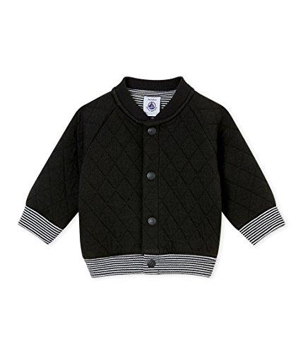 Petit Bateau Baby-Jungen Strickjacke Cardigan_4430603, Grau (Capecod 03), 92 (Herstellergröße: 24M/86cm)