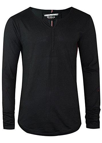 trueprodigy uomo T-Shirt Maglietta Manica Lunga Primal 1063104-2999-M