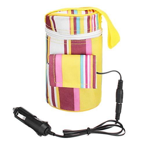 TENGGO 12V 40°C Portable Travel Car Warmer Baby Bottle Heater Fütterung Lebensmittel-Isolierung Thermostat -
