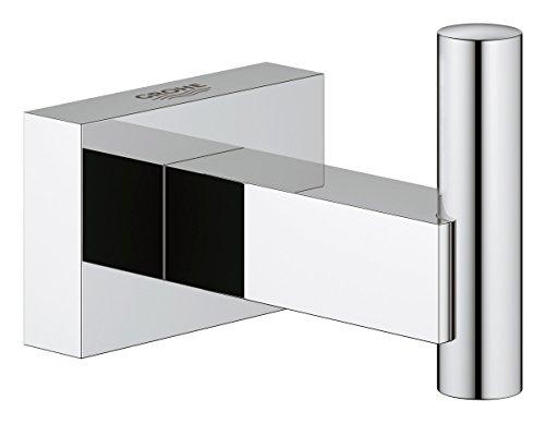 Grohe Essentials Cube 40511000 - Accesorios colgador, color plata