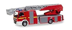 Herpa 92999 Man Tgs M - Camión de Bomberos con Escalera giratoria