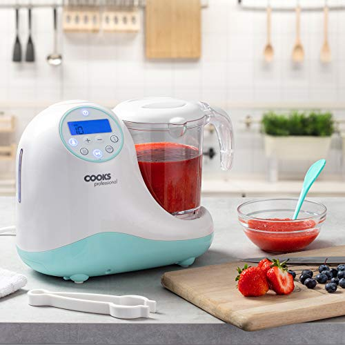 Cooks Professional Deluxe Baby Food Multifunction Electric Blender, Processor, Steamer & Sterilizer, 900W
